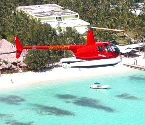 vuelo en helicoptero por Punta Cana
