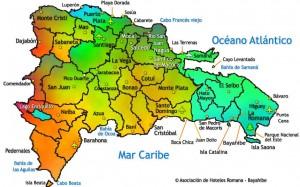 Mapa República Dominicana